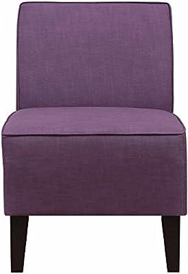 Amazon Com Solid Deco Accent Chair Multiple Colors