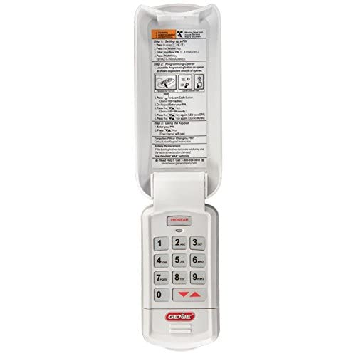 Genie Kep Acsd1g Garage Door Opener Wireless Keypad Manual