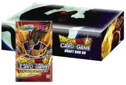 Dragon Ball Super Draft Box 06 Giant Force Booster Box - 24 Packs