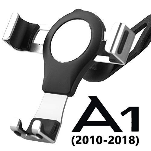 Handyhalterung für Audi A1, Audi LüFtung Handy Halterung 360 Rotatable Verstellbar Metall Aluminiumlegierung Easy Mount Gravity Stabil Schwenkbar Universal Phone Mount Car Phone Holder