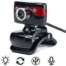 Yuxahiugstx 1080P Webcam,Webcam for Gaming Conferencing & Working, Laptop or Desktop Webcam Built-in Microphone Flexible R...