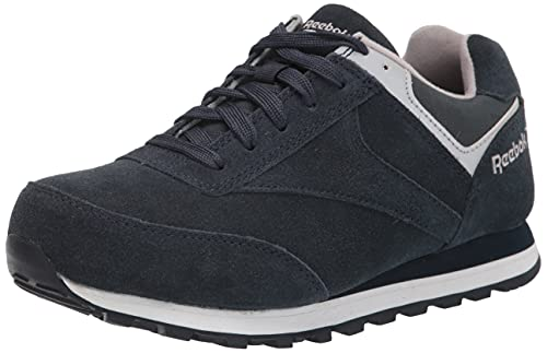 Reebok Work Men s Leelap RB1975 Safety Shoe,Blue,12 M US