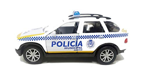 PLAYJOCS GT-3930 COCHE POLICIA MUNICIPAL MADRID