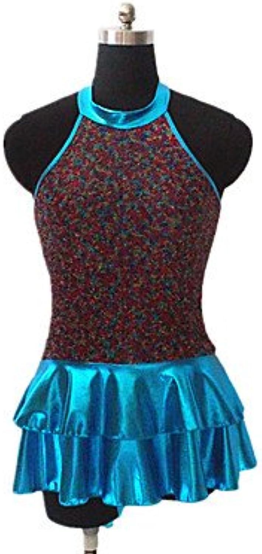 Dancewear KleiderNylon Pailletten Elastan MetallDamen Kinder Kleid Ärmellos, 4XL B073FD6M9B  Die erste Reihe von umfassenden Spezifikationen für Kunden