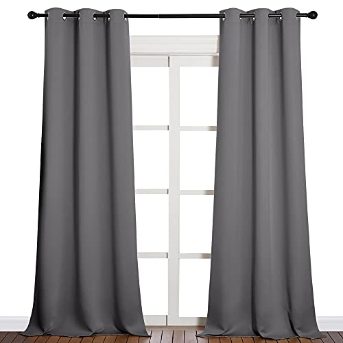 NICETOWN Thermal Insulated Blackout Curtains - Grommet Top Window Treatment...