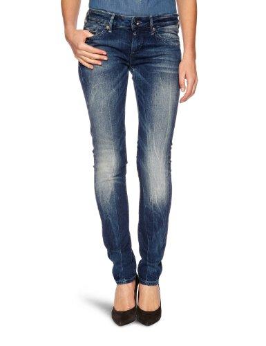 G-STAR RAW Damen Midge Skinny Jeans, Blau (medium Aged 4631-071), 28W / 34L