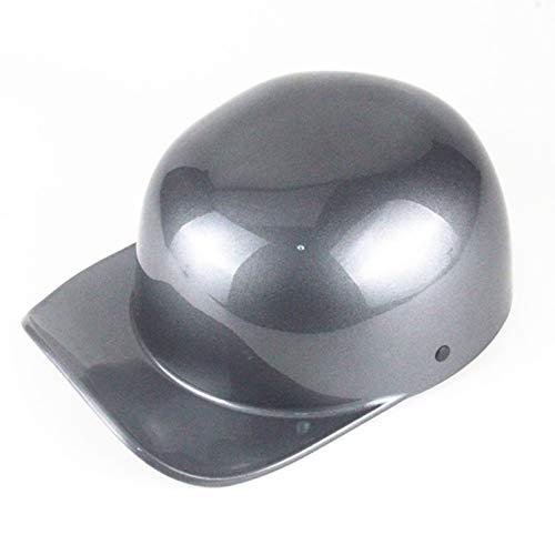 Soul Case Casco de fibra de carbono con cara abierta, unisex, estilo retro, para motocicleta, disponible para moto, scooter, ciclomotor, certificado D.O.T, casco de seguridad ajustable al aire libre