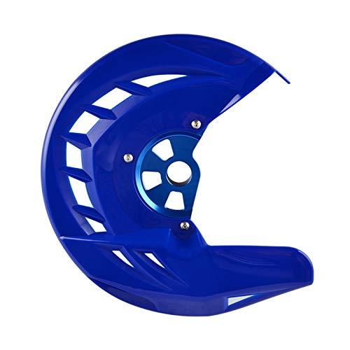 ZHANGWUNIU WUZ Store - Protector de disco de freno delantero para 125 150 200 250 300 350 400 450 530 SX SXF XC XCF EXC XCW XCFW 2003 – 2015 para Husqvarna 14 – 15 (color: azul)