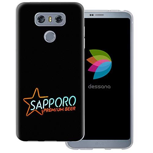 dessana Japan Sightseeing transparente Schutzhülle Handy Case Cover Tasche für LG G6 Sapporo Bier