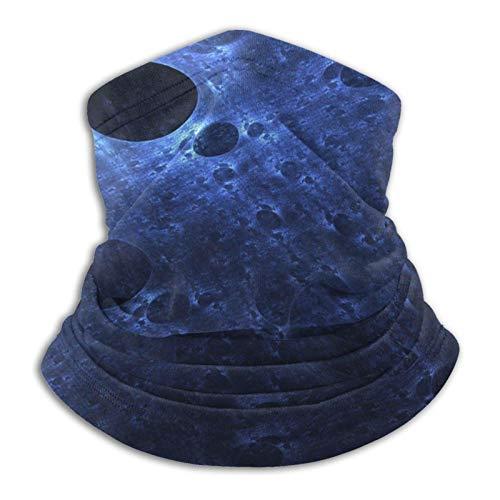 ASDTF Pañuelo de microfibra para el cuello con piel de serpiente, color azul