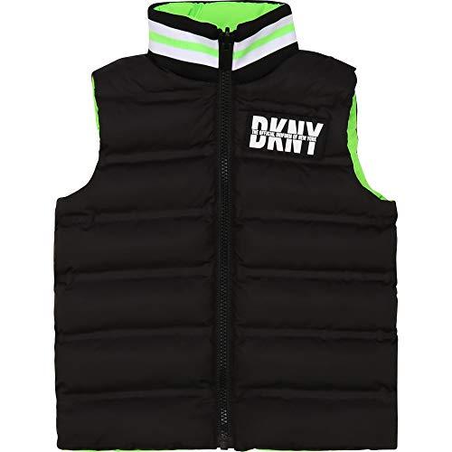 DKNY Daunenjacke, wasserabweisend, wendbar Gr. 2 Jahre, Neongrün.