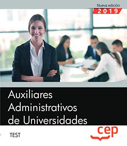 Auxiliares Administrativos de Universidades. Test