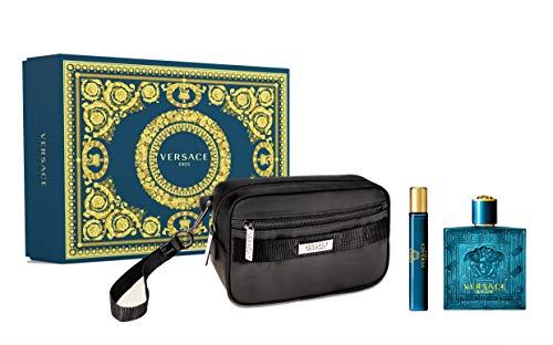 Versace Versace Eros Eau De Toilette Spray Set 3 Piezas 2020 400 g