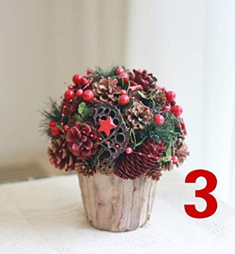 LGYLucky - Centro de Mesa de Flores secas para decoración del hogar, Flores preservadas Hechas a Mano, otoño