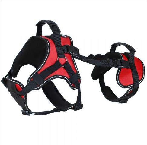 Doggie Stylz Multi-Functional Full-Body Lifting Dog Harness Vest, Designed for Front-Only, Rear-Only or Full-Body Dog Lifting