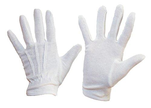Wärmebeständige Handschuhe zum Kellnern und Servieren, weiß