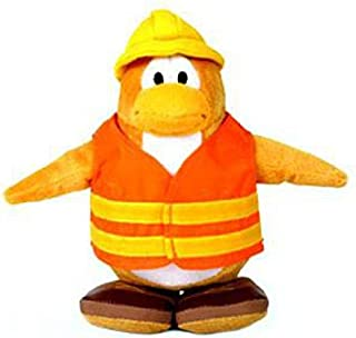 Disney Club Penguin Limited Edition 6.5 Inch Plush Series 1 Construction Worker