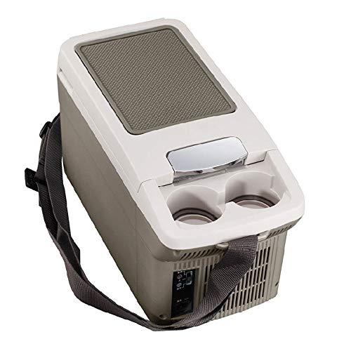 HDZ-ZWJ Frigorífico portátil for Autos, Mini gabinete de calefacción y enfriamiento for el hogar, Refrigerador portátil for Uso semiconductor portátil de Doble Uso, Diseño súper Delgado