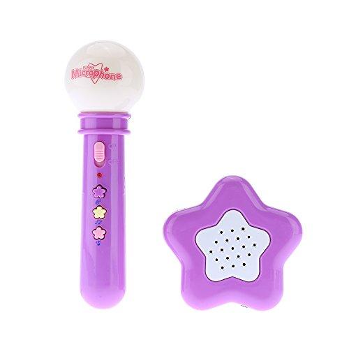 音楽玩具子供の楽器色ランダム配信を歌う子供のおもちゃポータブルマイクマイクメガホンスピーカーカラオケ