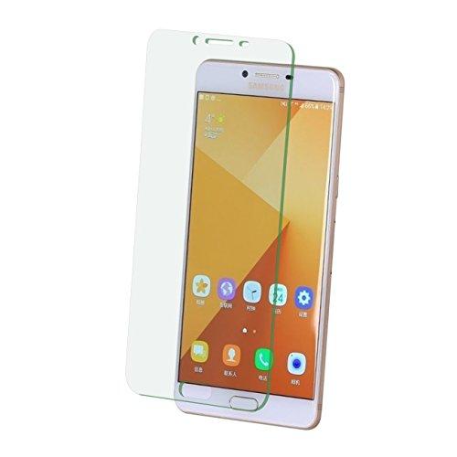 Preisvergleich Produktbild 2 x FONFON Samsung Galaxy C9 Pro Panzerglas Echt Verbundglas Glas Display Tempered Panzerfolie Schutzfolie