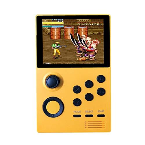 bobotron A19 's Box Android Supretro Handheld Retro Game Console IPS Pantalla Integrada 3000+Juegos 30 3D Juegos Naranja