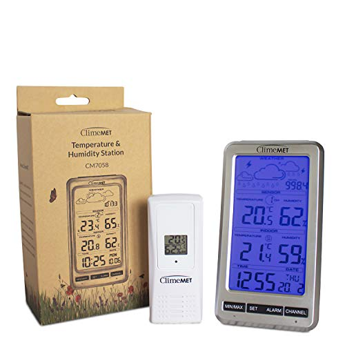 ClimeMET CM7058 Temperature and Humidity Station