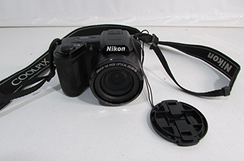Nikon L105 12.1 Mp Digital Camera with 15x Optical Zoom Factory Sealed NEW with One Year Nikon Warranty (Camera Is Excellent on Microscope Filming)