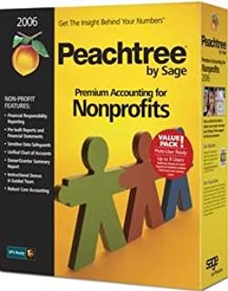 Peachtree Premium Accounting for Nonprofits 2006 Multi-User