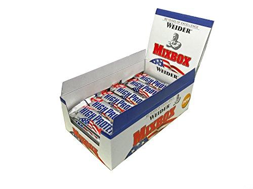 Weider 40% Protein Bar, Mix-Box, 1er Pack (24x 50g Riegel)