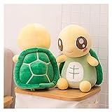 CHENPINBH Plüschtiere Niedliche Schildkröte Plüschtiere Weiche Handwärmer Tier Schildkröte Kissen Baby Puppe Schönes Geschenk für Kinder Mädchen