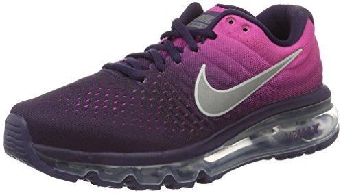 Nike Air Max 2017 GS, Scarpe da Corsa Donna, Multicolore (Purple Dynasty/Summit White/Fire Pink 500), 36.5 EU