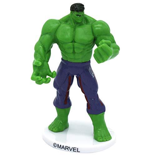 Dekora-347169 Decoracion para Tartas con la Figura de Hulk de 9 cm, Color verde (347169)