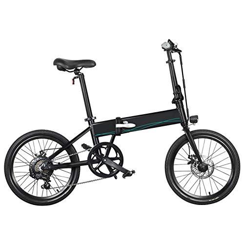 Zoomarlous - Bicicleta eléctrica (10,4 Ah, 36 V, 250 W, 20 pulgadas, plegable, 25 km/h, velocidad máxima de 80 km)