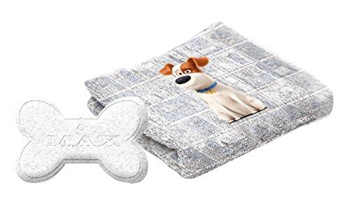 The Secret Life of Pets Gant de Toilette/Bombe de Bain Max