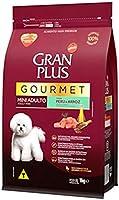 Ração GranPlus Gourmet para Cães Adultos de Porte Mini Sabor Peru 1kg
