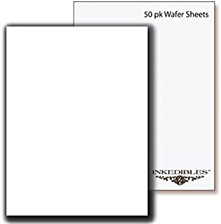 YummyInks Brand: Wafer Sheets 50 sheets - A4 - 0.6mm thickness