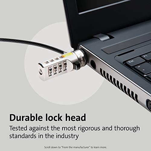 Product Image 4: Kensington Combination Cable Lock for Laptops and Other Devices