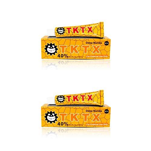 [Pack x2] Crema del Tatuaje Crema Adormecedora del Tatuaje, Anti-Cicatriz, para el...