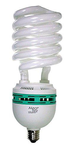ALZO 85W Joyous Light Full Spectrum CFL Light Bulb 5500K, 4250 Lumens, 120V, Daylight White Light, Extra Large
