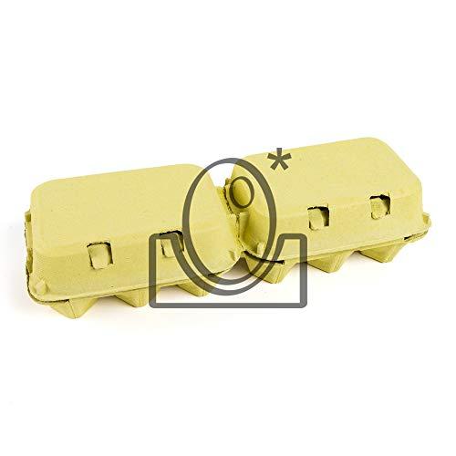 62 Esuches De Cartón De Docena Formato 6+6 Color Amarillo