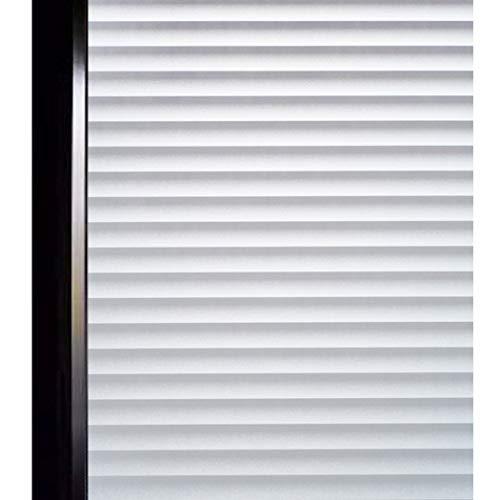 DUOFIRE 窓用フィルム 目隠しシート 紫外線・UVカット ブラインド模様 DP040(0.443M X 2M)