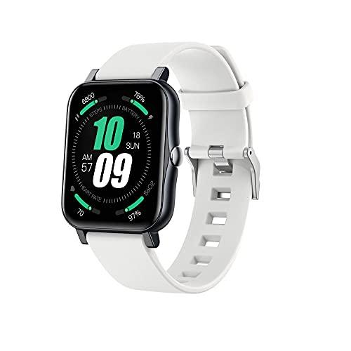 S80 Smart Watch, Reloj Inteligente de la Pantalla táctil de 1.7 Pulgadas, rastreador de Fitness con Monitor de frecuencia cardíaca, Impermeable IP68, Reloj Inteligente para Hombres y Mujeres