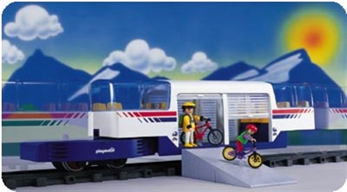 PLAYMOBIL 4119 - RC-Kombimittelwagen