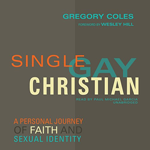Single, Gay, Christian audiobook cover art