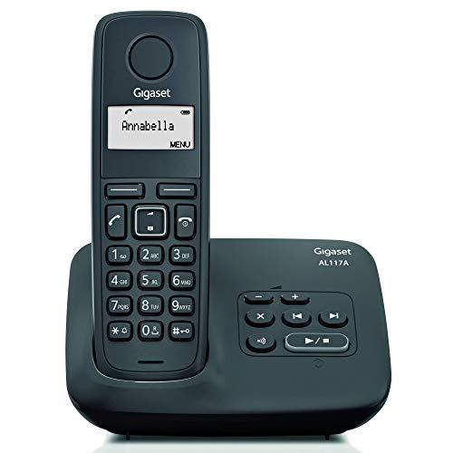 Gigaset AL117 A- Teléfono inalámbrico con contestador digital