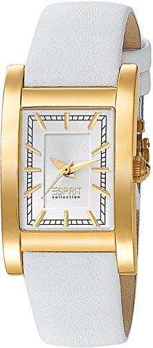 Esprit Collection Damen-Armbanduhr Melia Analog Quarz Leder