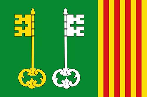 magFlags Bandera Large Santpedor, Barcelona, España | Bandera Paisaje | 1.35m² | 90x150cm