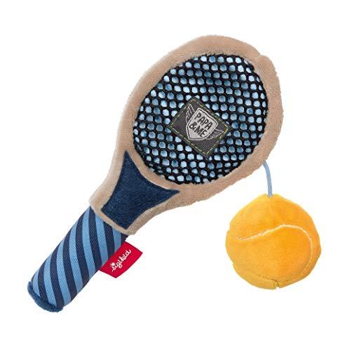sigikid, Mädchen und Jungen, Greifling, Tennisschläger, Papa & Me, Blau, 42353