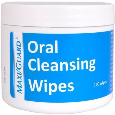 MAXIGUARD DENTAL CLEANSING WIPES FOR ANIMALS