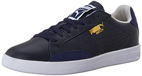 PUMA Women's Match LO Basic Sports WN's-W, Peacoat/Oatmeal, 10 B US
